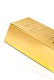 Gold bullion close-up Stock Images