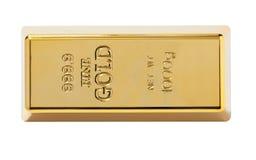 Gold bullion close-up Royalty Free Stock Photos
