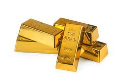 Gold bullion Stock Photography