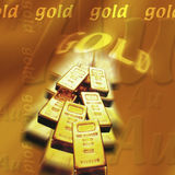 Gold Bullion - Wealth - Riches Royalty Free Stock Photos