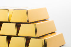 Gold bullion Royalty Free Stock Photos