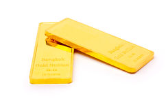 Gold bullion Stock Images