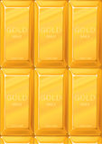 Gold bullions Stock Image