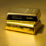 Gold bullions Royalty Free Stock Image