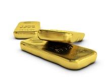 Gold bullions Stock Photo