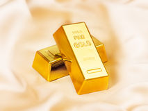 Gold bullions Stock Photo