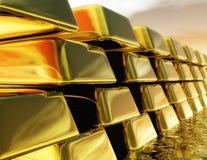 Gold Bullions Royalty Free Stock Image