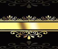 Gold business abstraction. Stock Photos