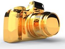 Gold camera #4 Stock Photos