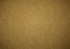 Gold canvas texture or background Royalty Free Stock Images
