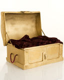 Gold casket Stock Photo