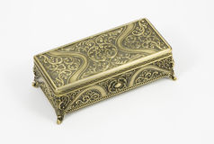 Gold casket Royalty Free Stock Photography