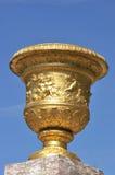 Gold cauldron stock photo