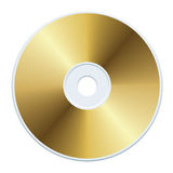 Gold CD Royalty Free Stock Image