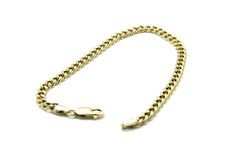 Gold chain. Isolated on white Royalty Free Stock Images