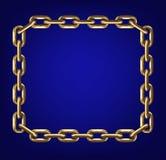 Gold chain Stock Photo
