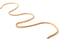 Gold chain Royalty Free Stock Photo