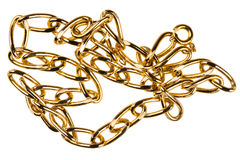 Gold chain Royalty Free Stock Photos