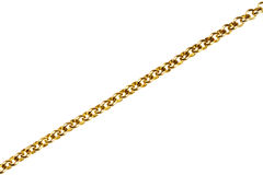 Gold chain Stock Images