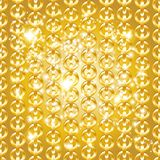 Gold chain seamless abstract pattern Stock Photo