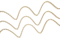 Gold chains Stock Photos