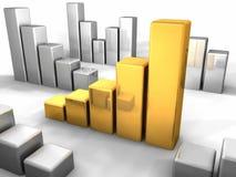 Gold Chart Stock Photos