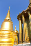 Gold Chedi at Grand Palace, Thailand Stock Images