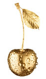 Gold cherry Stock Images
