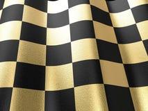 Gold chess board Stock Photos