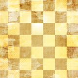 Gold chess board Royalty Free Stock Images