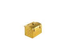 Gold chest Royalty Free Stock Image