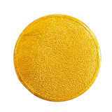 Gold Chocolate coin Stock Photo