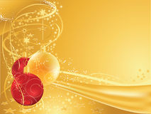 Gold christmas Stock Images