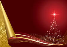 Gold Christmas Background Royalty Free Stock Photo