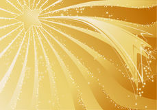 Gold christmas background vector illustration
