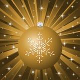 Gold christmas background Royalty Free Stock Photo