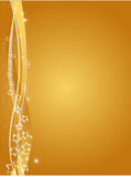 Gold Christmas Background Stock Photos