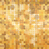 Gold Christmas background, elegant abstract, seaml Stock Image