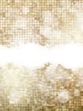 Gold Christmas background. EPS 10. Gold Christmas background with snowflakes. Illustration for Christmas posters, icons, greeting cards, print and web projects Royalty Free Stock Photos