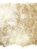 Gold Christmas background. EPS 10. Gold Christmas background with snowflakes. Illustration for Christmas posters, icons, greeting cards, print and web projects Stock Images