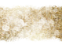 Gold Christmas background. EPS 10 Stock Images