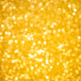 Gold Christmas bokeh Royalty Free Stock Image