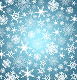 Christmas Snowflakes Background Card Menu Web Royalty Free Stock Photos