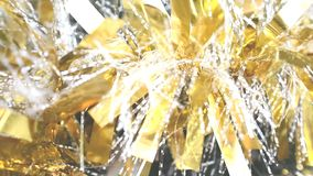 Gold christmas sparkly background