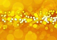 Gold circles Royalty Free Stock Image