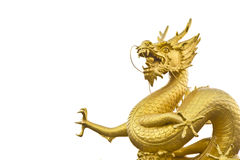 Gold city Puket dragon , Royalty Free Stock Image