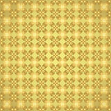 Gold Claw of Crab and Circle and Triangle and Swirl Pattern Stock Image
