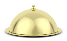 Gold cloche Royalty Free Stock Photo