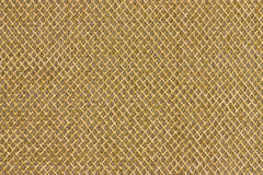 Gold cloth pattern Royalty Free Stock Photos