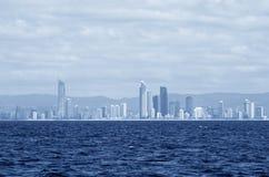 Gold Coast, αστικό τοπίο της Αυστραλίας Στοκ εικόνα με δικαίωμα ελεύθερης χρήσης